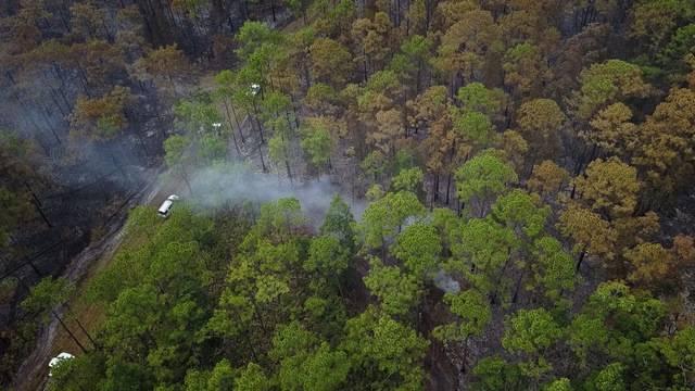 Drone pix ot JTB at Hodges brush fire