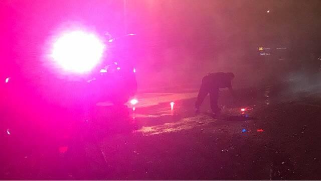 U of M Dearborn lockdown photo