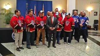 Icemen to host 2nd annual 'Guns N' Hoses' hockey match