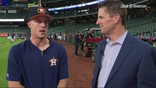Get to know Astros rookie Myles Straw