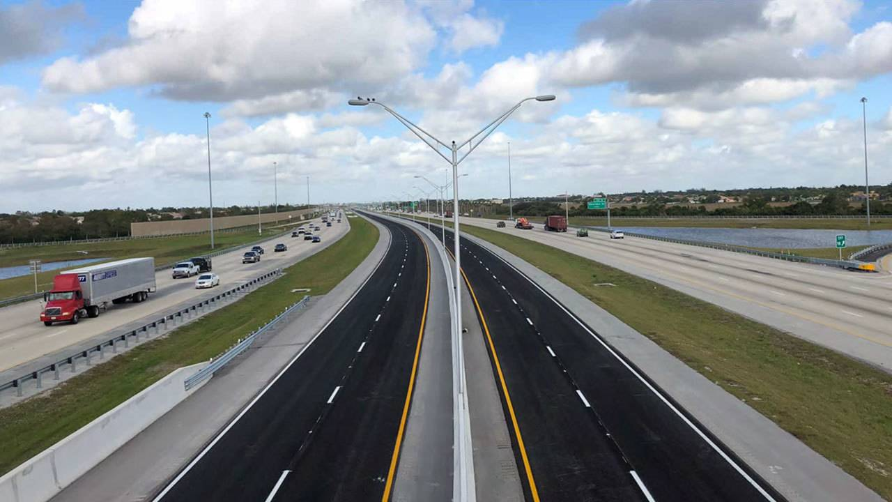 I 75 Traffic Map.Delayed For Weeks Highly Anticipated New Express Lanes Open