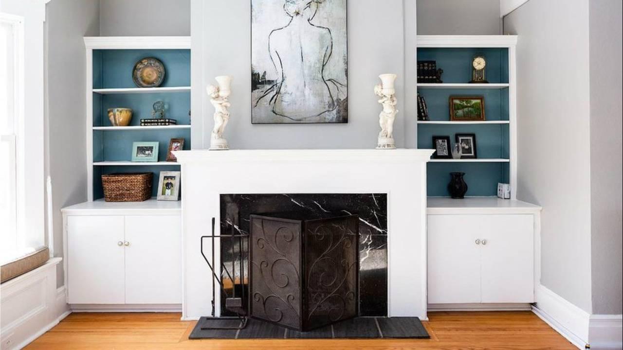 2012 Washtenaw Ave fireplace