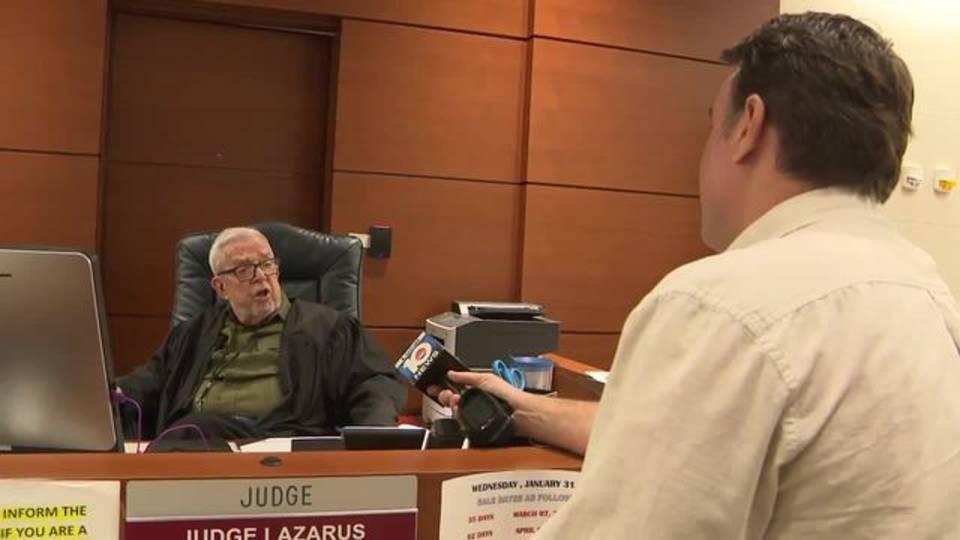 Judge Lazarus and Bob Norman