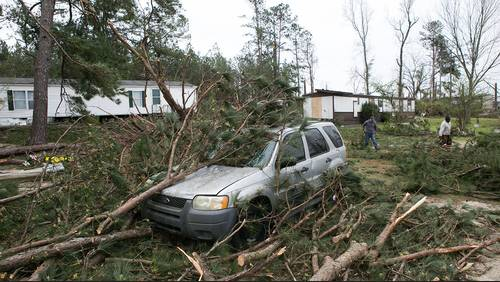 Deadly tornadoes rip through Lee County, Alabama