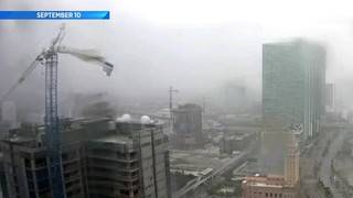 Newly obtained footage shows Miami crane collapse during Irma