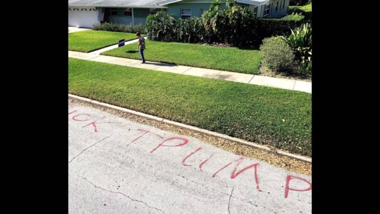 Trump vandals