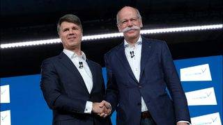 Rivals BMW and Daimler team up for $1B venture