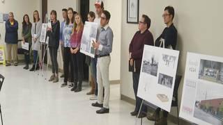 Virginia Tech students present improvement plans for Roanoke neighborhood