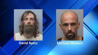 Two men charged in connection with Franklin County break-ins