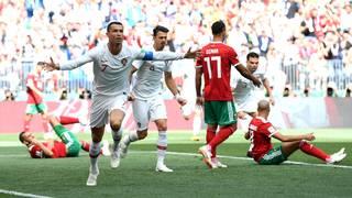 Cristiano Ronaldo makes more history as Portugal beats Morocco