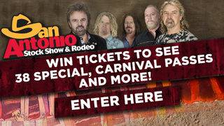 San Antonio Stock Show & Rodeo 38 Special Giveaway