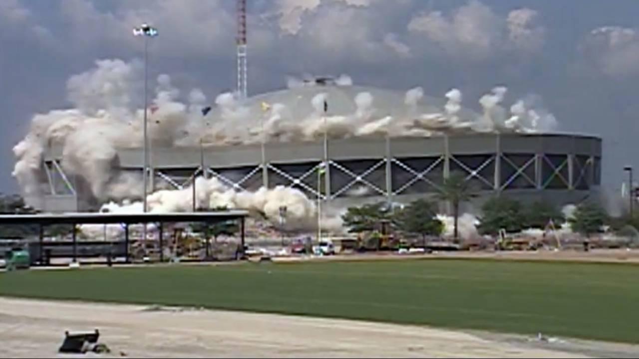 Jax Coliseum implosion