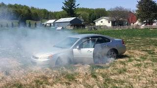 High speed chase through Northern Michigan ends in smoke, arrests