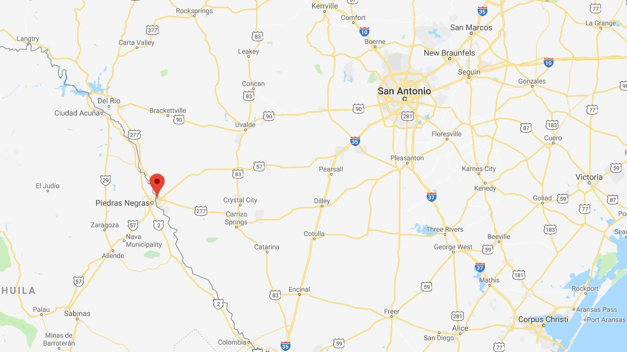Map Of Texas Mexico Border Towns.2 000 Migrants Expected To Arrive In Mexican Border Town