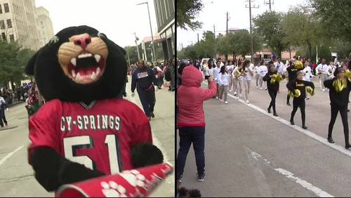 Houston celebrates MLK day with two dueling parades