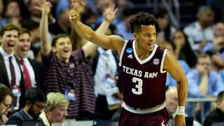 Texas A&M stuns reigning champ UNC 86-65 in NCAA 2nd round