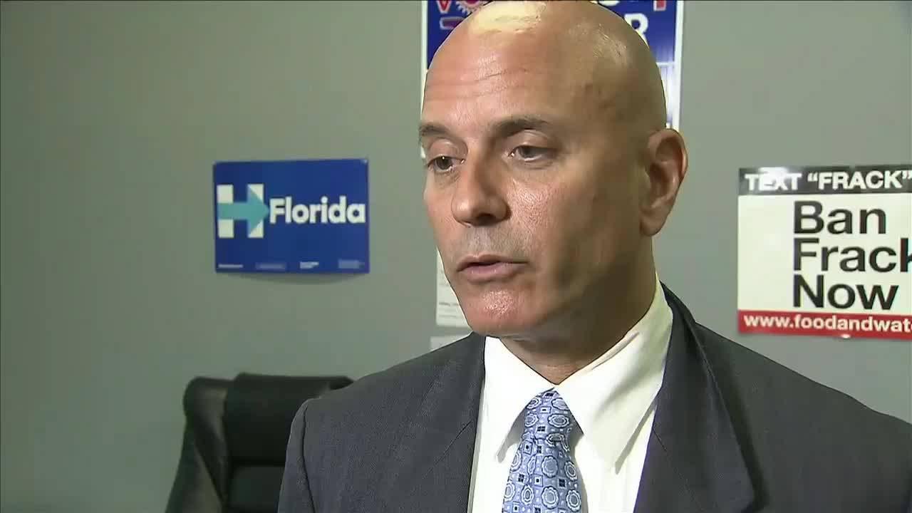 Tim Canova says opponent's strategy is not to debate him