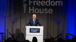 Biden blasts Trump immigration policy