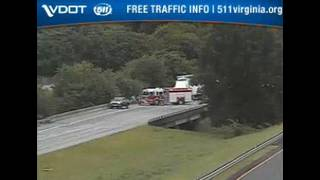 58-year-old woman dies in tractor-trailer crash on I-81 in