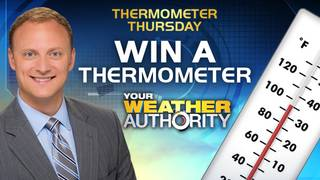 A chance to win an Adam Caskey Thermometer