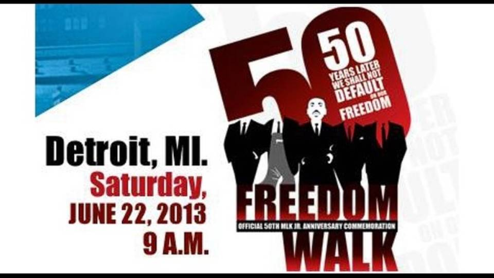 50th Anniversary Freedom Walk in Detroit_20667686