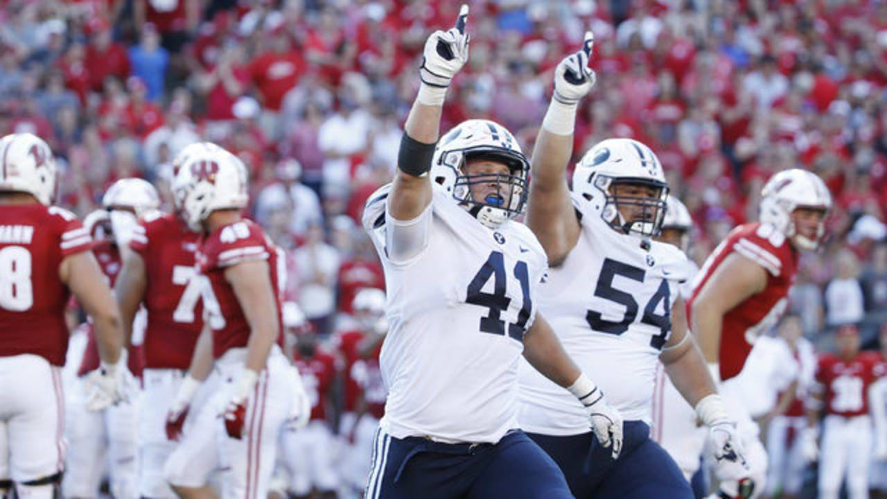 BYU wins at Wisconsin 2018