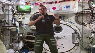 Talking to an astronaut on the International Space Station