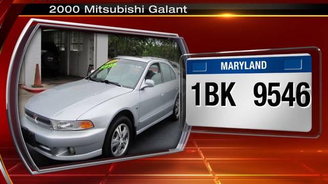 Mitsubishi Galant Wanted By Jso