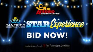 Santikos Super Star 2019 Experience: Bid on rodeo and concert seating…