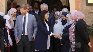 Meghan. Harry start whirlwind tour of Morocco
