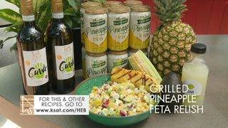 H-E-B Backyard Kitchen: Grilled Pineapple Feta Relish