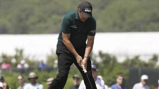 Phil Mickelson apologizes for actions at U.S. Open