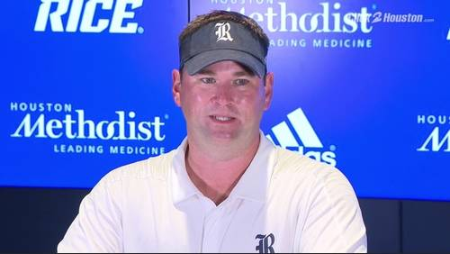 Rice comes out strong, then falls short vs Cougars