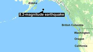 Quake spurs tsunami warnings along West Coast