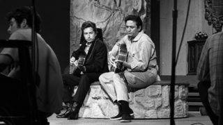Bob Dylan and Johnny Cash's demo of 'Wanted Man' released
