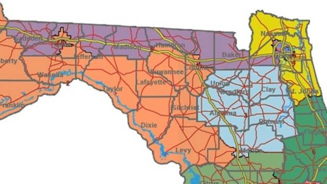 Florida Congressional Map.Judge Orders Overhaul Of Florida S Congressional Districts