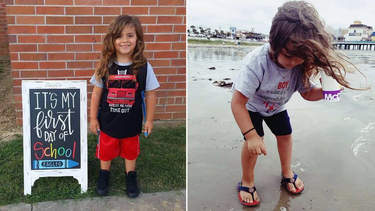 School Blocks 4 Year Old Boy With Long Hair From Attending