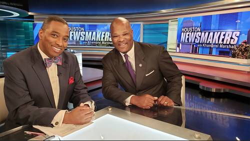 Houston Newsmakers for May 5: Councilman Boykins says mayor has vendetta against firefighters
