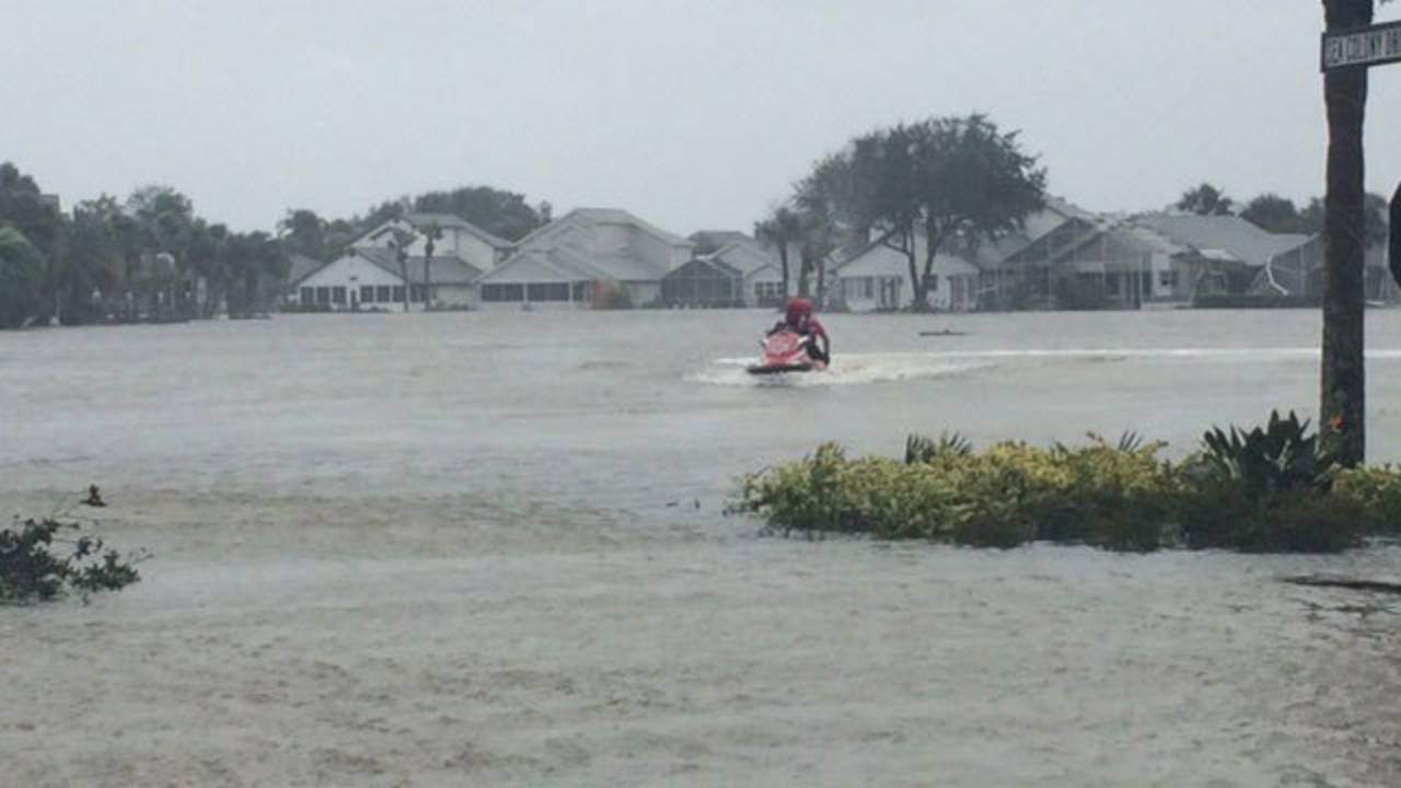 Flagler County Fire Rescue Hurricane Matthew 4