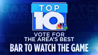 10 News Top 10: Best Bar to Watch the Game
