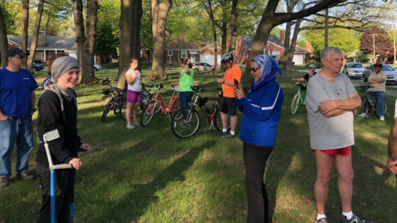 Ride of Silence Dearborn 2