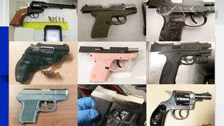 Hundreds of firearms found each year in Texas airports at TSA checkpoints