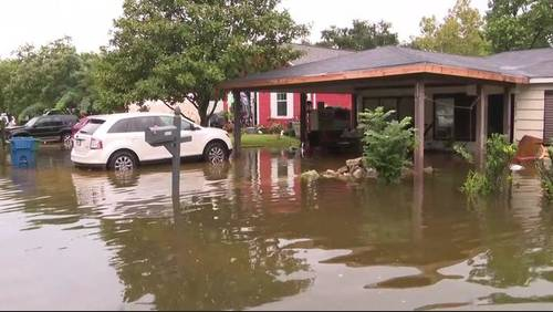 Red Cross opens shelter after Texas City flooding