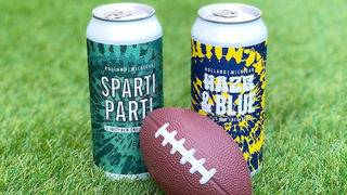 Celebrate the return of college football with University of Michigan, MSU beers