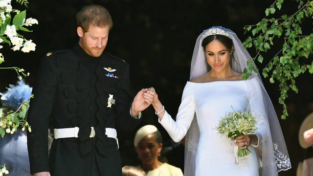 prince harry and meghan markle marry in trailblazing ceremony