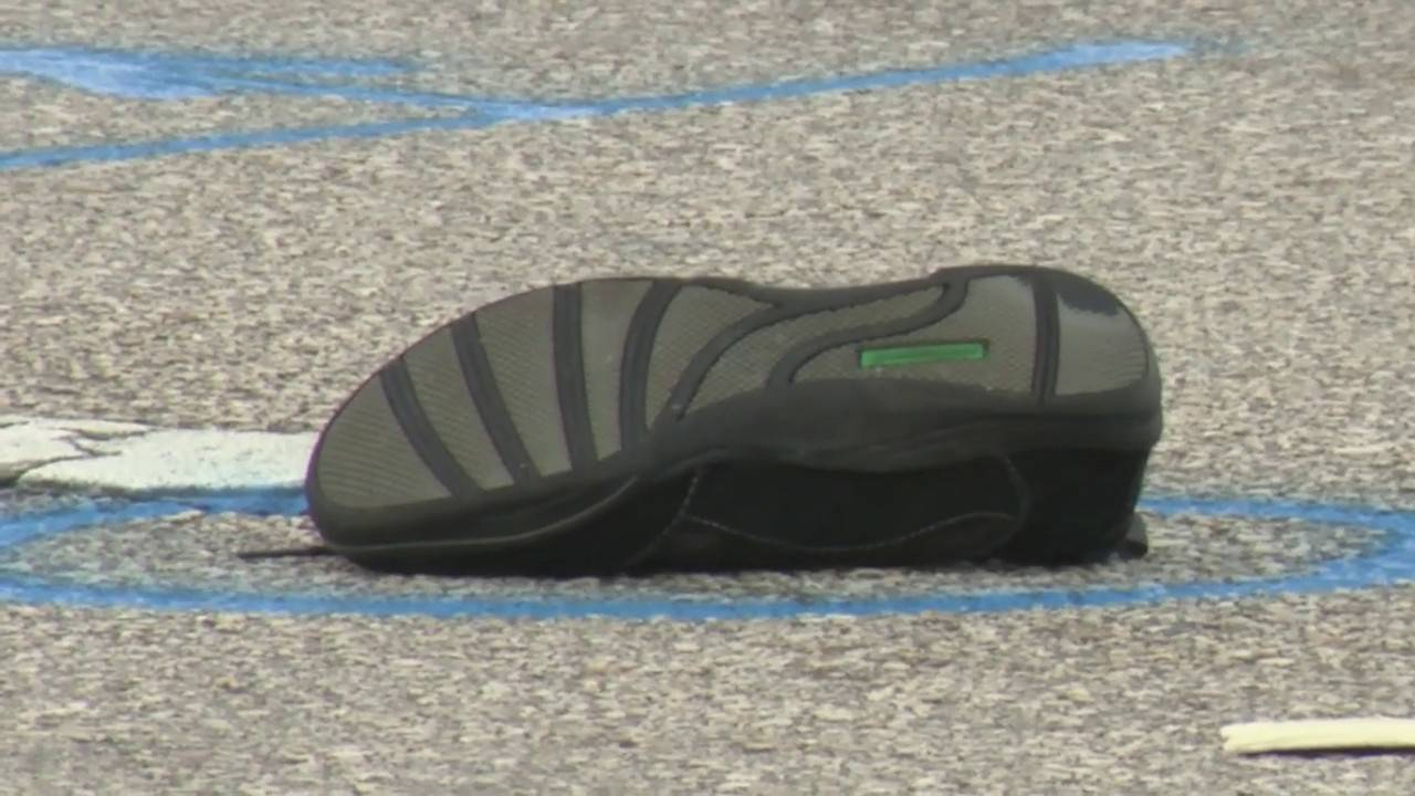 Shoe in middle of US Highway 441 after pedestrian killed