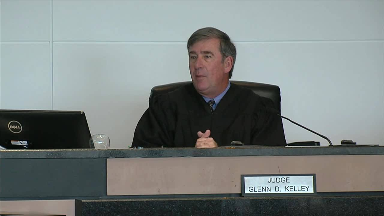 Judge Glenn Kelley declares mistrial