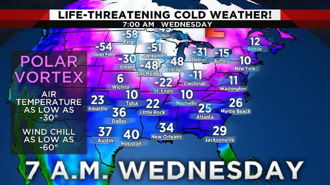 Midwest arctic blast 1-29-19