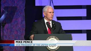 Vice President Mike Pence meets with Venezuelan migrants in Doral