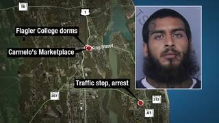 Man arrested after shot fired over Flagler College dorm